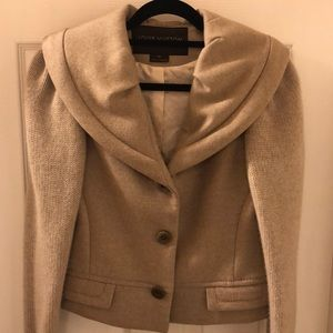 Louis Vuitton Cashmere and Silk Coat Size 38
